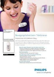 Leaflet MT3120T_12 Released Switzerland (German) High ... - Philips