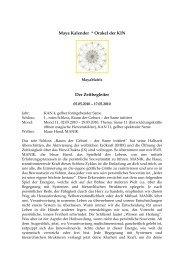 Maya Kalender * Orakel der KIN Der Zeitbegleiter