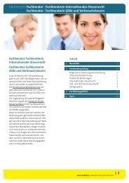 Karriereziel: Fachberater - NWB Job-Börse