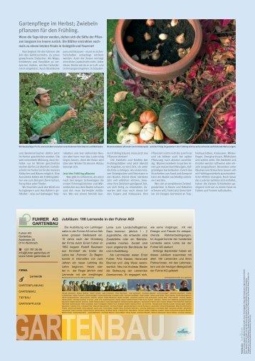 Aussenseite - Fuhrer AG Gartenbau