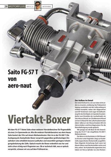 Platz 1: Saito FG-57 T von aero-naut - VTH