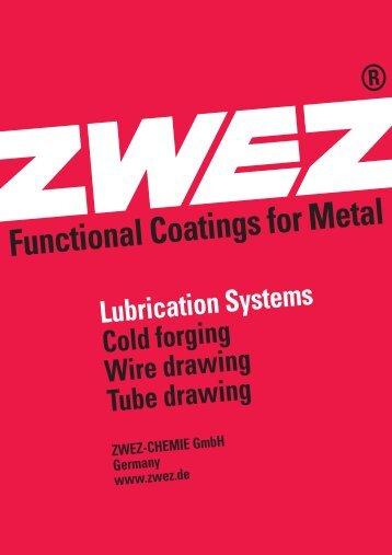 Poster Kaltumformung A2 11-05 - ZWEZ-CHEMIE GmbH