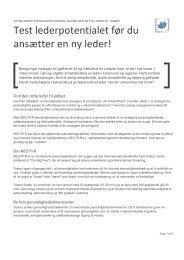 Test lederpotentialet før du ansætter en ny leder! - DAHLIA ...