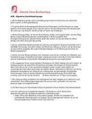AGB - Allgemeine Geschäftsbedingungen 1. Mit der Bestellung ...