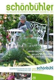 jahresbericht 2010 neues alter für neue generationen - Altersheim ...
