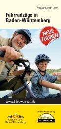 Fahrradzüge in Baden-Württemberg - Nahverkehrsgesellschaft ...