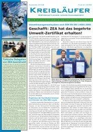 04/2008 - ZEA Zentrale Entsorgungsanlage in Iserlohn