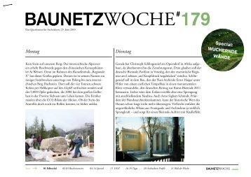 BAUNETZWOCHE#179