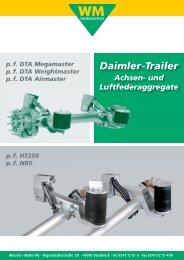 Daimler-Trailer Achsen - Wessels + Müller AG