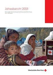 Jahresbericht Deutsch - Schweizerisches Rotes Kreuz