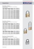 Einbausicherung Schlüssellochsperrer, Hebelzylinder - Seite 3