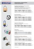 Einbausicherung Schlüssellochsperrer, Hebelzylinder - Seite 4