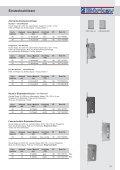 Einbausicherung Schlüssellochsperrer, Hebelzylinder - Seite 5