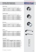 Einbausicherung Schlüssellochsperrer, Hebelzylinder - Seite 7