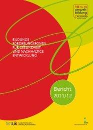 Jahresbericht des Bildungsförderungsfonds - Schulpsychologie
