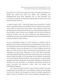Text der Rede - Hochschule für Jüdische Studien Heidelberg