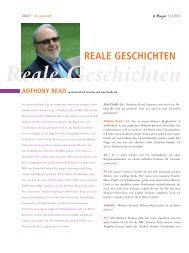 REALE GESCHICHTEN - Verlag Freies Geistesleben