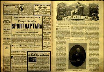 Vasárnapi Ujság 1885. 32. évf. 41. sz. október 11. - EPA