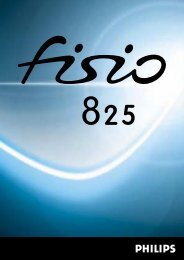 Fisio825_DE_4311 255 54232.book - Philips