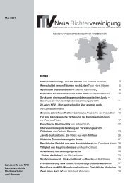 NDS-2007-05 Info - Neue Richtervereinigung eV