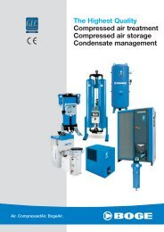 The Highest Quality Compressed air treatment Compressed air ...