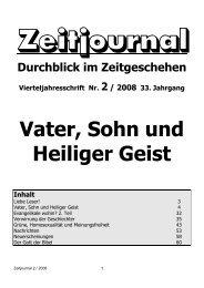 Vater, Sohn und Heiliger Geist - Dr. Lothar Gassmann