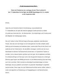 Rede - Landtag Brandenburg