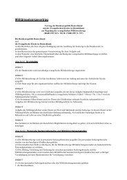 Militärseelsorgevertrag - der Evangelischen Militärseelsorge ...