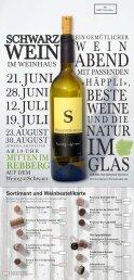 Flyer zum Herunterladen - Weingut Schwarz