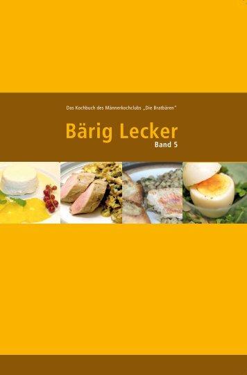 Bärig Lecker - Kochfreunde an der RUB