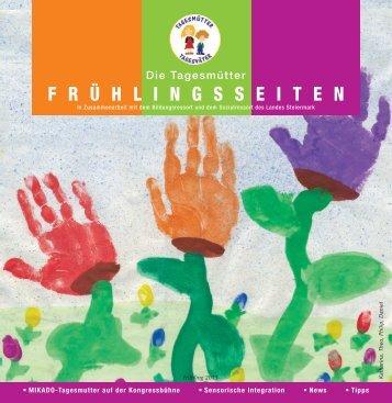 Frühlingsseiten 2013 - Tagesmütter Steiermark