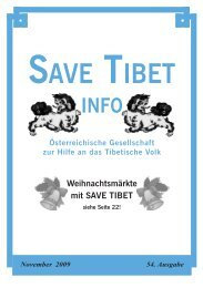 Save Tibet Info November 2009