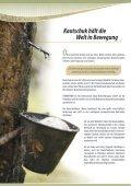 Kautschuk hält die Welt in Bewegung - TIMBERFARM GmbH - Seite 4
