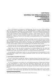 László Bodolay* NONVERBALE UND VERBALE KOMMUNIKATION ...