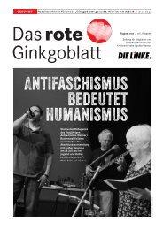 Ausgabe 08/2012 - DIE LINKE. Kreisverband Apolda-Weimar