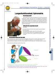 Lungenfunktionstest- Spirometrie - LOT