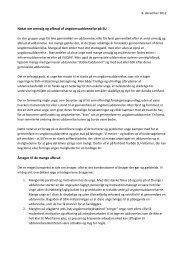 Notat om omvalg og afbrud af ungdomsuddannelse på ... - SU-rådet