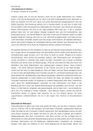 Ein deutsches Ur-Muhen - Materialien zur Aufklärung und Kritik