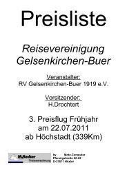 Reisevereinigung Gelsenkirchen-Buer