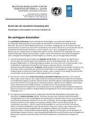 Die wichtigsten Botschaften - Deutsche Gesellschaft für die ...