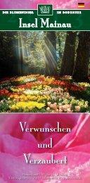 Verwunschen und Verzaubert - Imageflyer 2013 (D) - Insel Mainau
