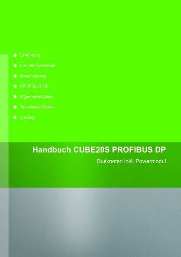 Handbuch CUBE20S PROFIBUS DP - Murrelektronik