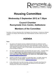 HC1 September 2012 - Runnymede Borough Council