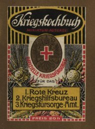 Kriegskochbuch von 1915 - Sicherheit-statt-krise.de
