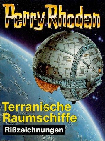 Perry Rhodan - Terranische Raumschiffe - Rißzeichnungen