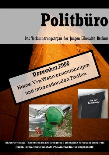 Ausgabe herunterladen! - JuLis Bochum