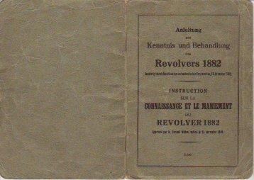 Page 1 Page 2 Der Revolver 1882. lnhaits-Verzeuìchnis. Text ¿n ...
