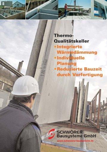 Prospekt Thermokeller.pdf - Schwörer Bausysteme GmbH