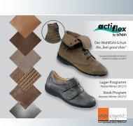 """Der Wohlfühl-Schuh the """"feel-good shoe"""" Lager-Programm ... - Schein"""