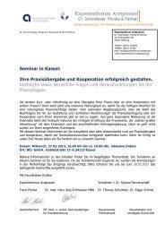 Seminar in Kassel: Ihre Praxisübergabe und Kooperation erfolgreich ...